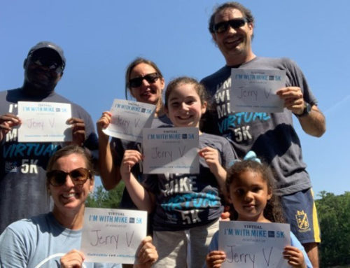 See our participants in the 2020 I'm With Mike Virtual 5K