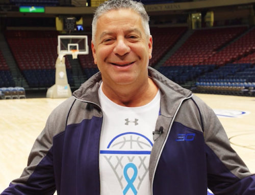 Blood test screening with Bruce Pearl and Urology Centers of Alabama at the 2019 Mike Slive Invitational